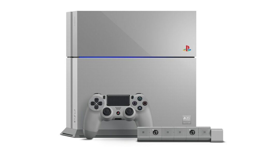 Sony Reveals Limited Edition 20th Anniversary PlayStation 4 Video 466395 2