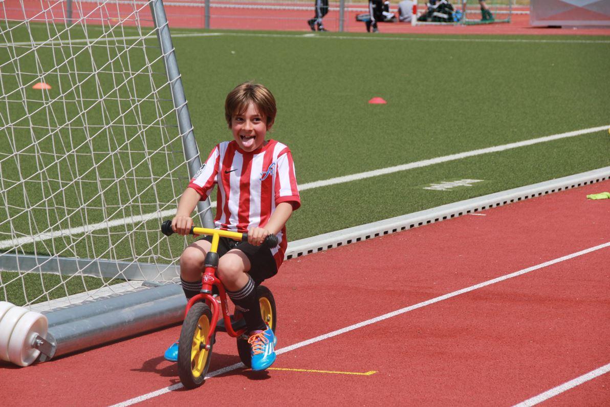 Fußballsohn von Daniel Wiechmann