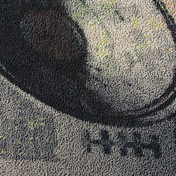 Star Wars Todesstern Teppich Detail