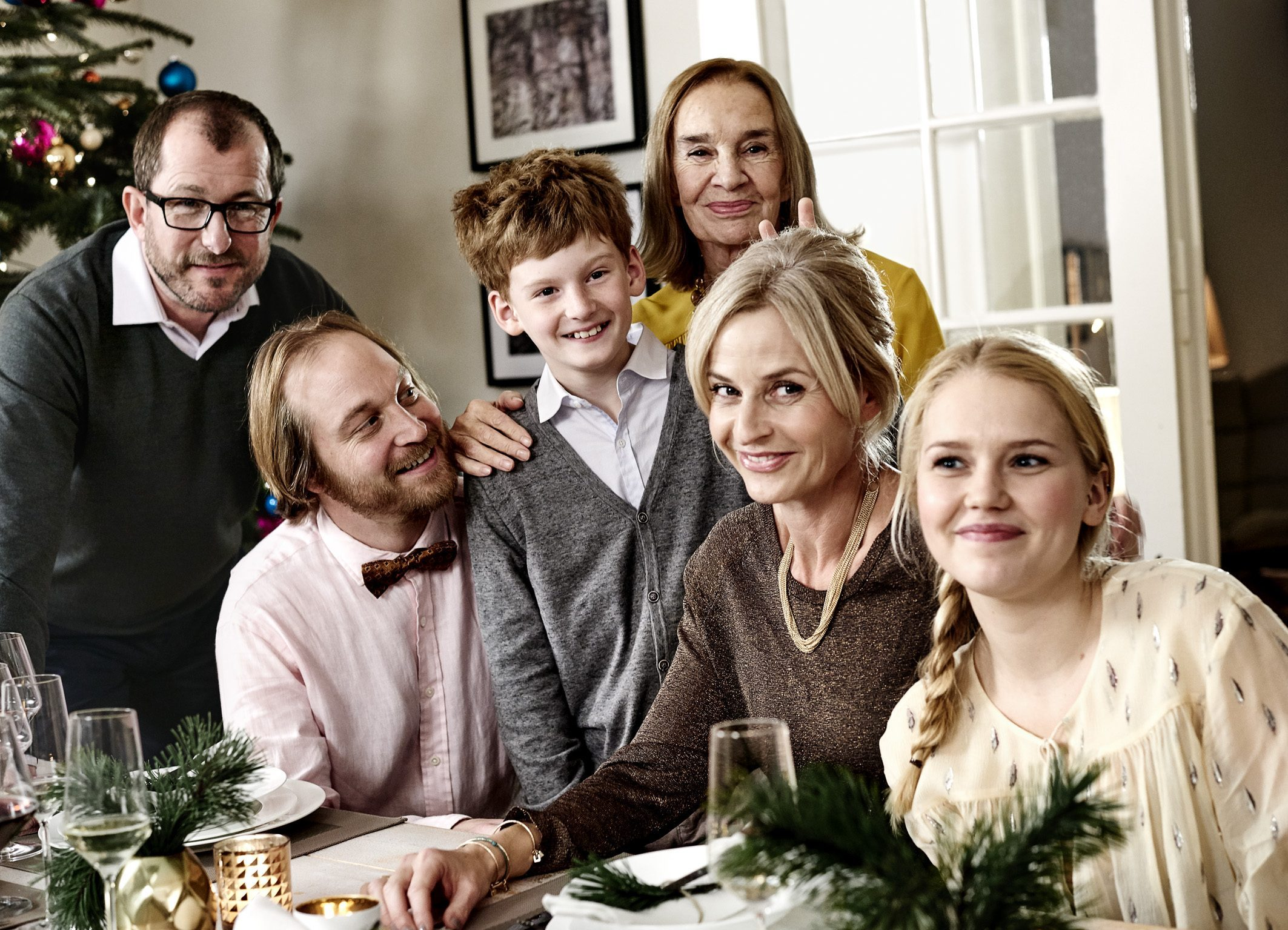 Telekom Weihnachten Familie Heins komplett