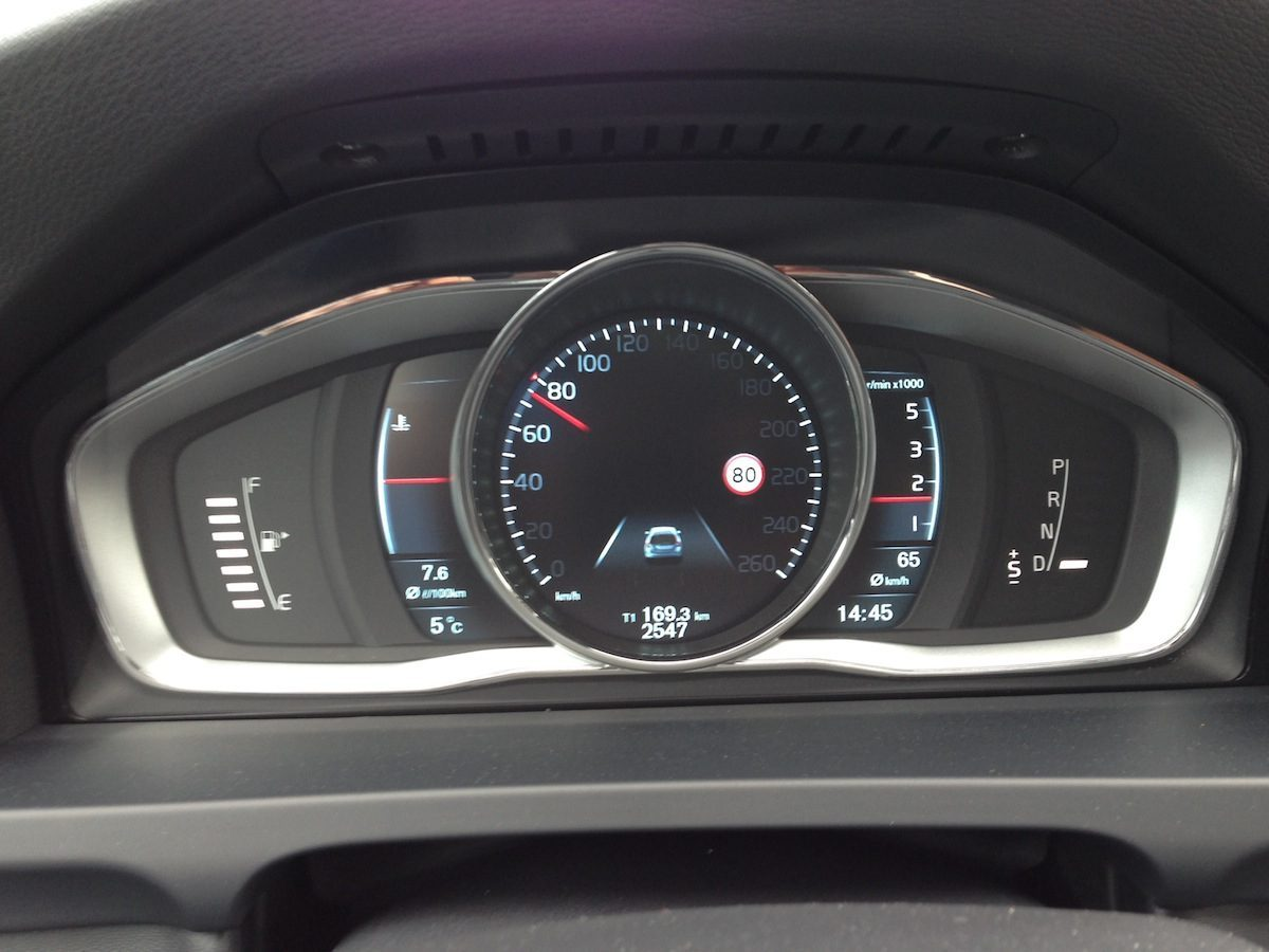 Volvo V60 D4 Geartronic Cockpit