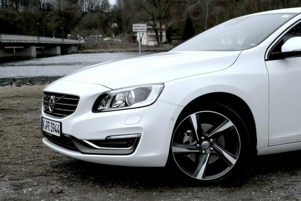Volvo V60 D4 (2014) Seitenansicht
