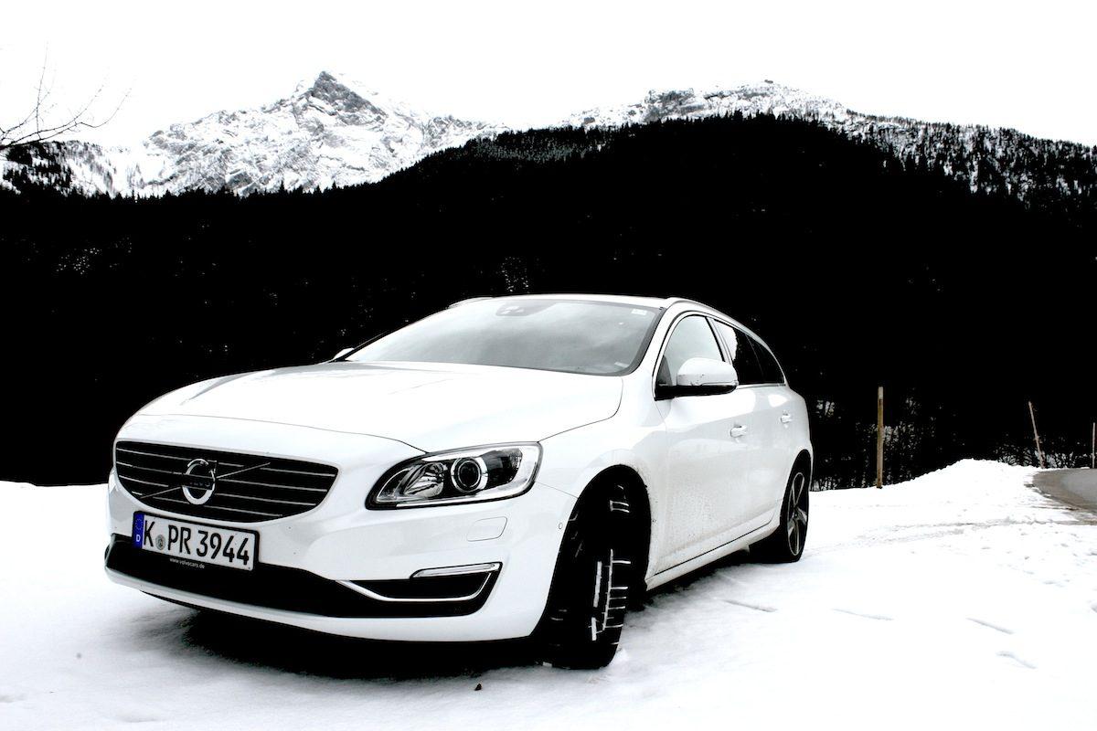 Volvo V60 D4 Geartronic Schnee