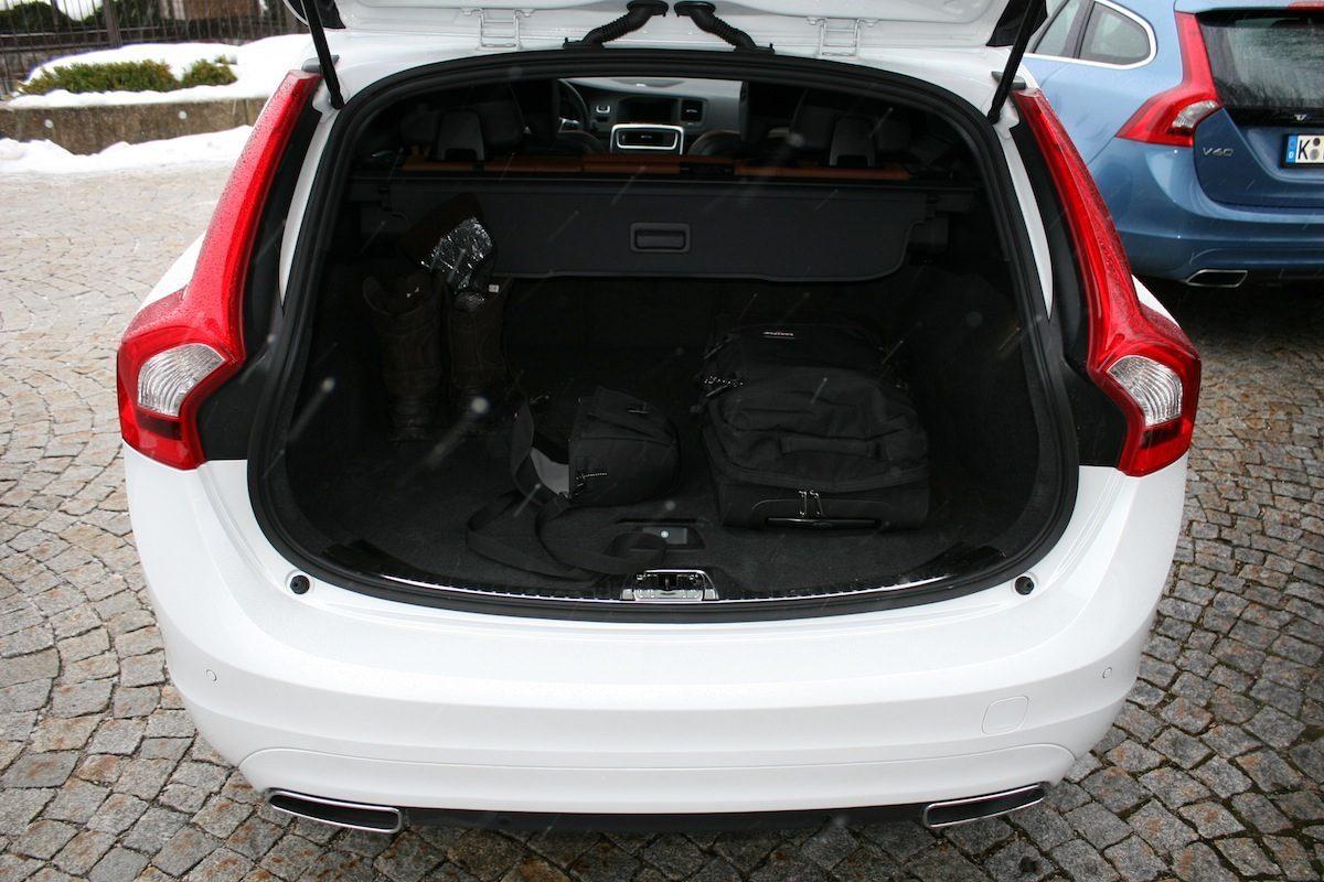 Volvo V60 D4 Geartronic Kofferraum