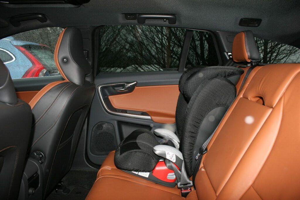 Volvo V60 D4 (2014) Rücksitze