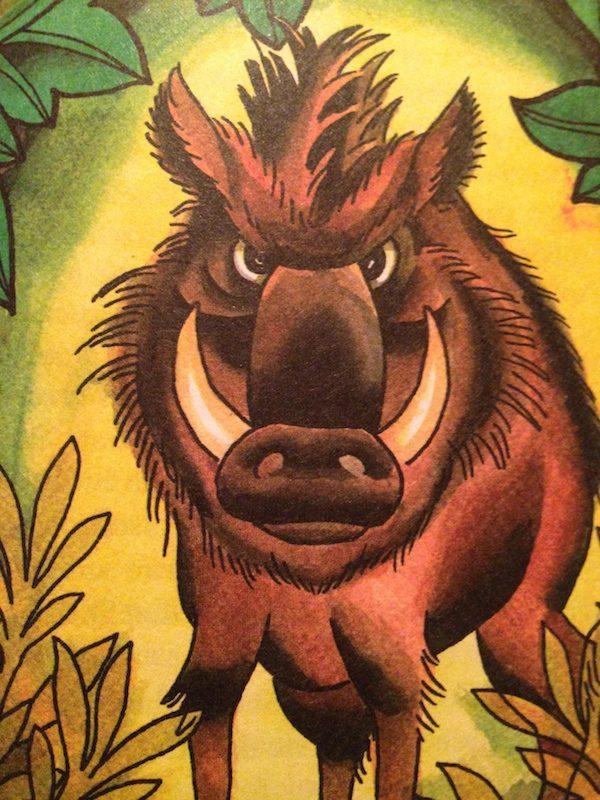 Wildschwein - Auch lecker!