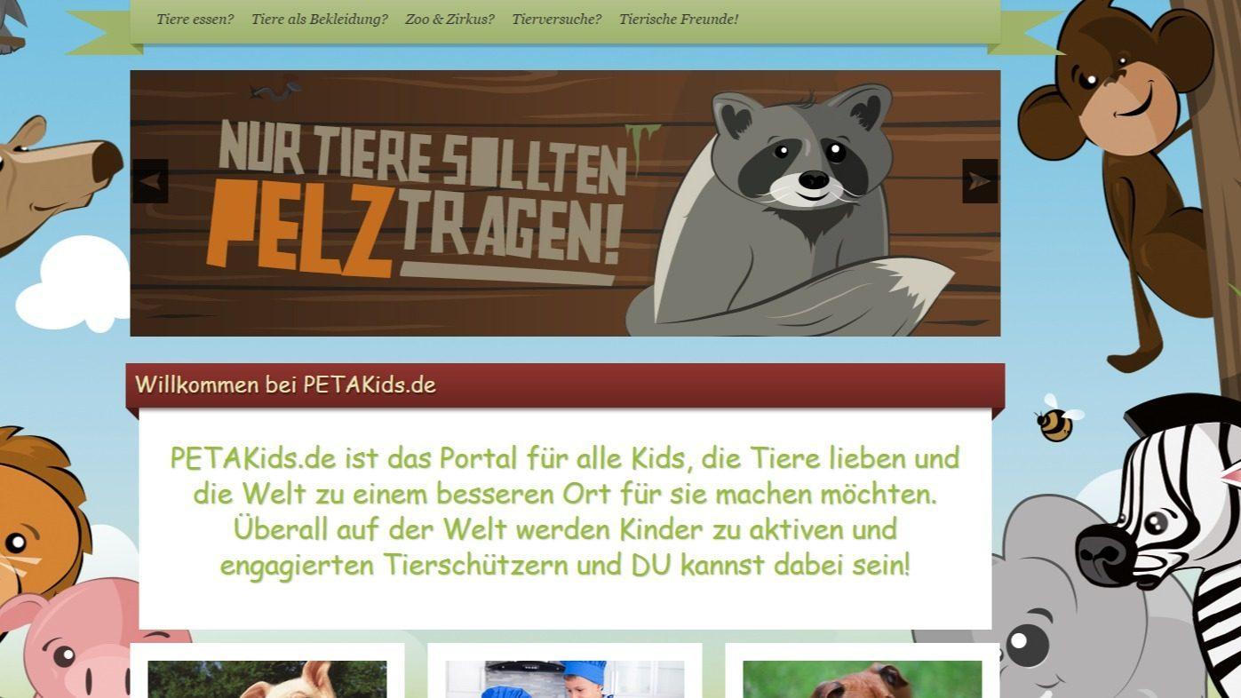 Willkommen bei PETAKids.de PETAkids