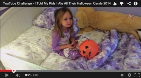 YouTube Challenge I Told My Kids I Ate All Their Halloween Candy 2014 YouTube