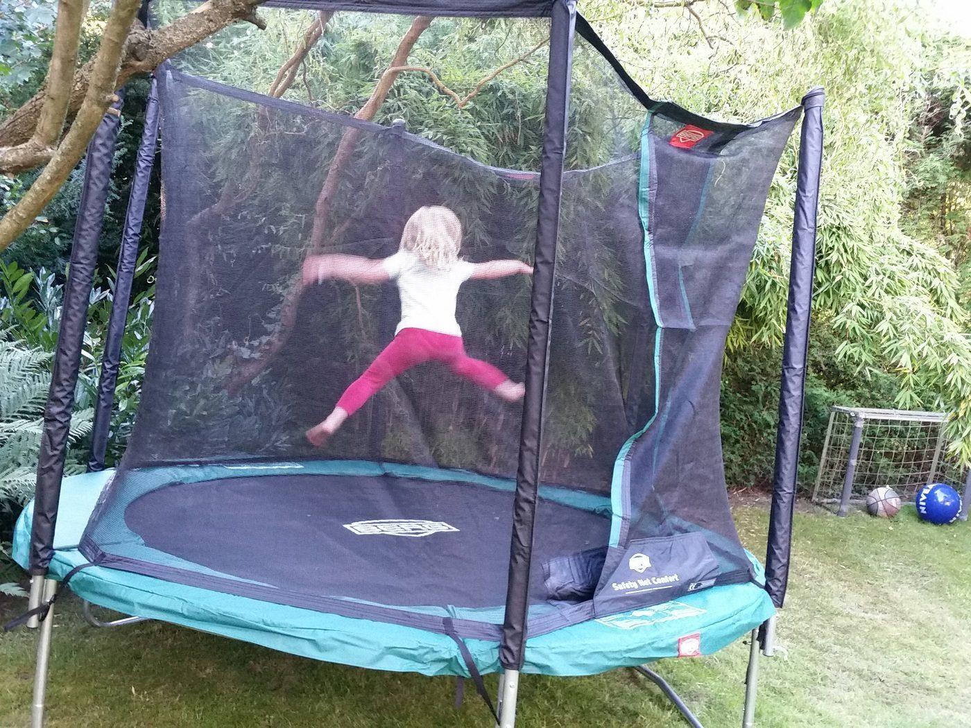 berg trampolin jump