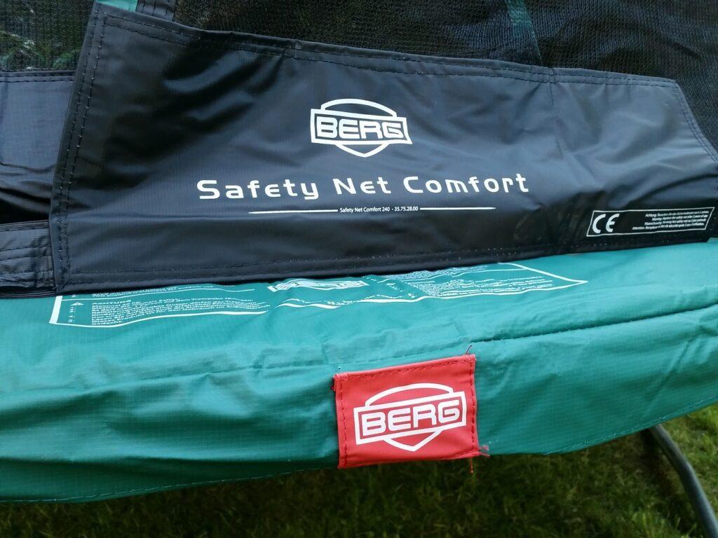 berg trampolin sicherheit