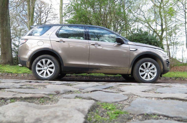 Land Rover Discovery Sport Seitenansicht