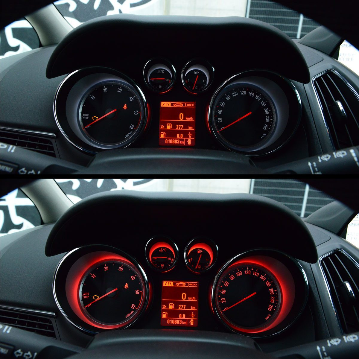 Opel Zafira Tourer Cockpit