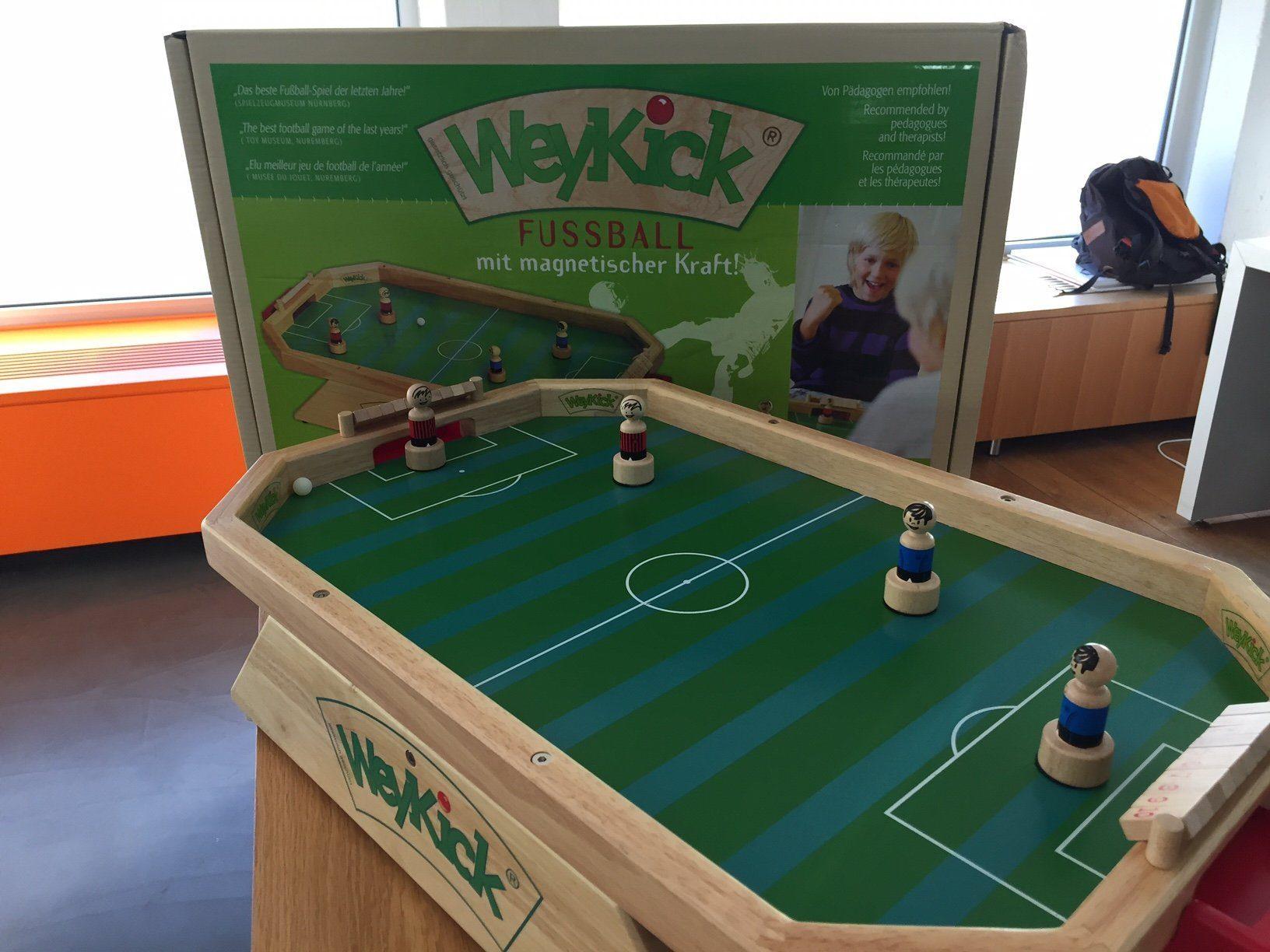 weykick tischfussball Header